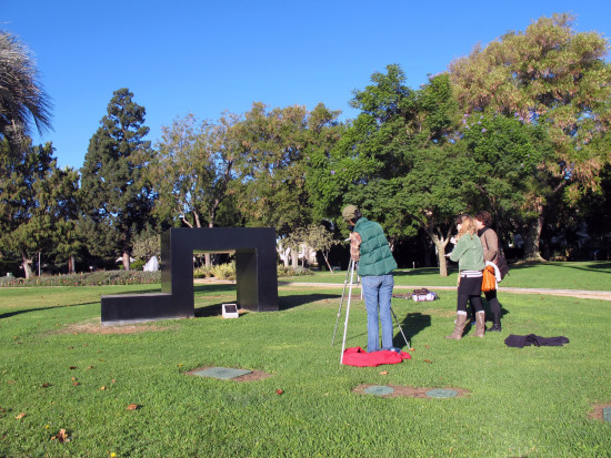 Emerging Conservation Professionals take a closer look at Tony Smith's Playground 3/3