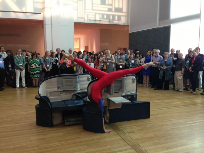 Allora & Calzadilla's Body In Flight (Delta) at the IMA