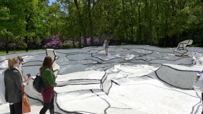 Jardin d'émail, Jean Dubuffet, 1974.