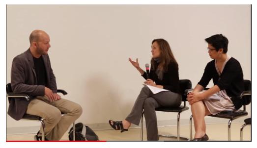 Gwynne Ryan & Melissa Ho discuss artistic process with Kota Ezawa