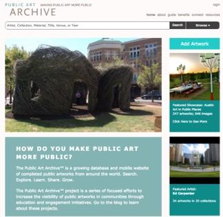 VoCA Public Art Archive