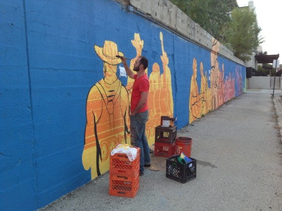 APPROACHES TO THE CONSERVATION OF CONTEMPORARY MURALS: Mural on Morgan