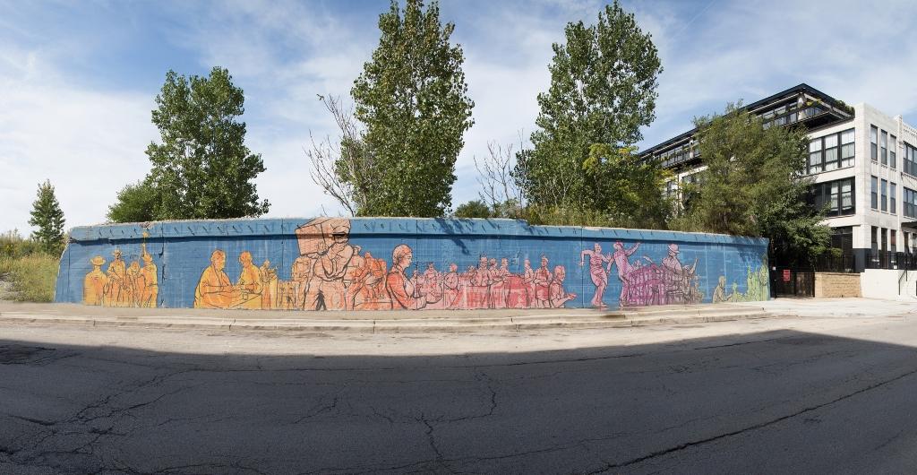 VoCA contemporary murals on morgan