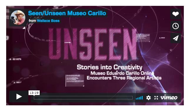 VoCA, Seen/Unseen, online museum