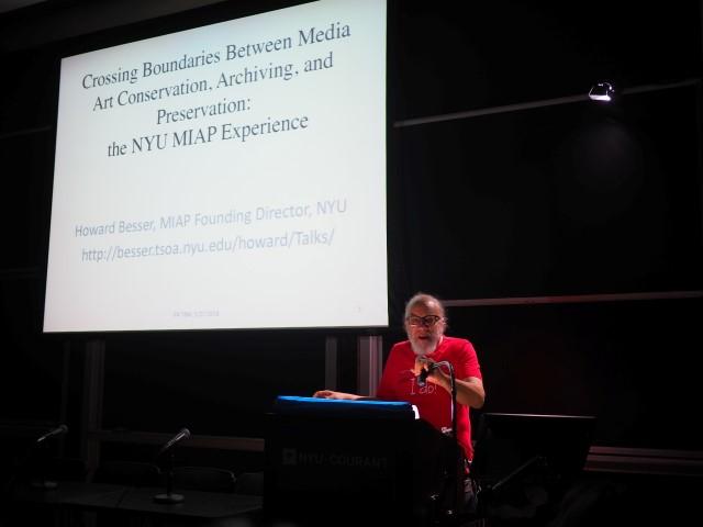 VoCA, It's About Time!, TBM, art conservation, NYU