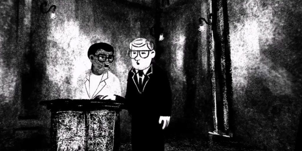 Courtroom interrogation scene, Accused no. 2: Walter Sisulu, VoCA, The Art of Visual Intelligence, Virtual Reality