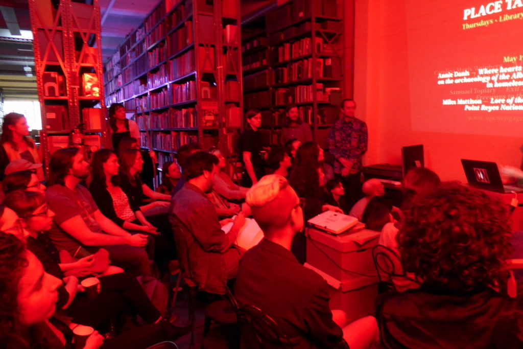 Place Talks, Prelinger Library