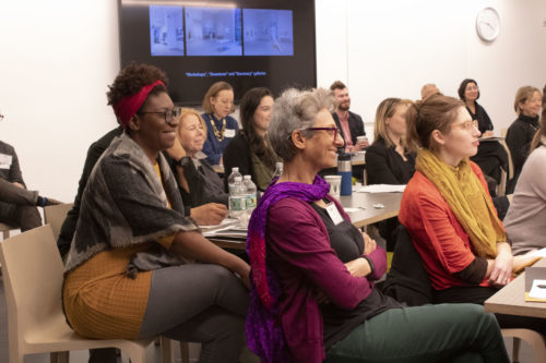 the Artist Interview Workshop held at MoMA in 2019