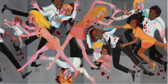 Faith Ringgold, American People Series #20: Die