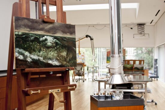 The Inge-Lise Eckmann Lane Paintings Conservation Center at the Dallas Museum of Art