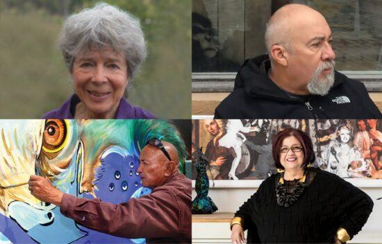 Carmen Leon, Ralph D'Oliveira, Yermo Aranda, and Amalia Mesa- Bains